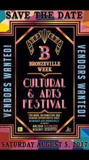 Save the Date for Bronzeville Fest
